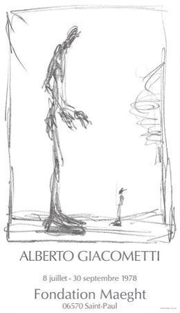 Dessin I by Alberto Giacometti