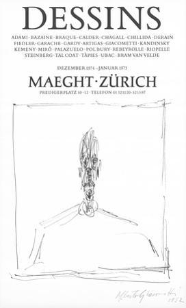 Dessins by Alberto Giacometti