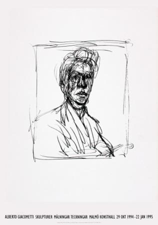 Self-Portrait by Alberto Giacometti