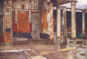 Casa Dei Vettii-Pompeii by Alberto Pisa