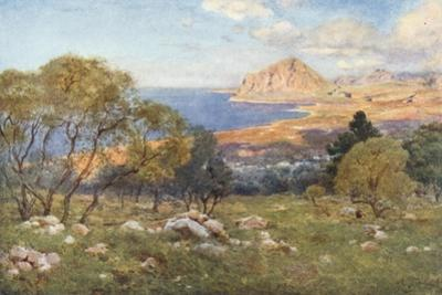 Monte Cofano from Portarella, Trapani