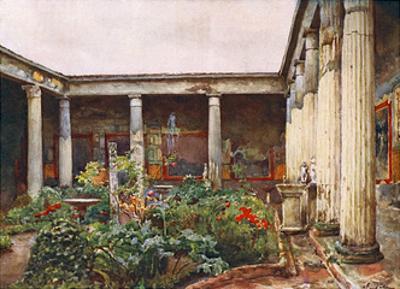 Peristyle, Casa Dei Vetti