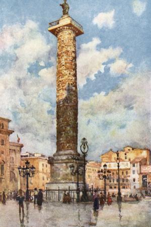 Piazza Colonna, Rome