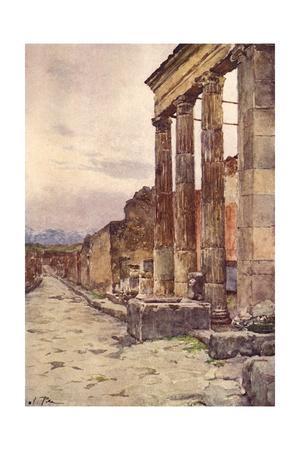 Street of Isis, Pompeii