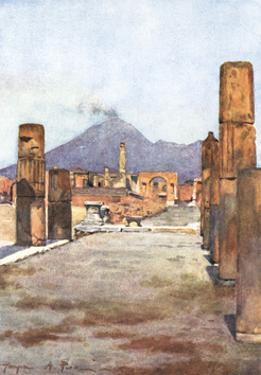 Street View - Pompeii by Alberto Pisa