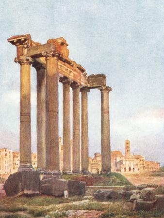 Temple of Saturn, Forum