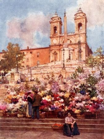 The 'Spanish Steps,' Piazza Di Spagna