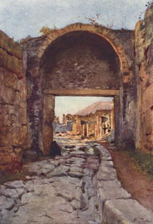 The Stabian Gate, Pompeii