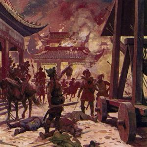 Genghis Khan Killed the Population of Pekin and Razed the City to the Ground by Alberto Salinas