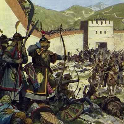 Genghis Khan Marched an Army of 200,000 into China