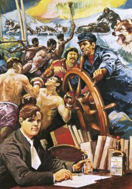 The American Writer, Jack London by Alberto Salinas