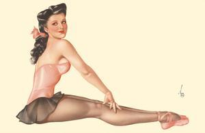 Miss Black Magic - June 1944 Esquire Magazine by Alberto Vargas