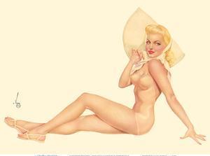 Miss September 1944 - Esquire Magazine by Alberto Vargas