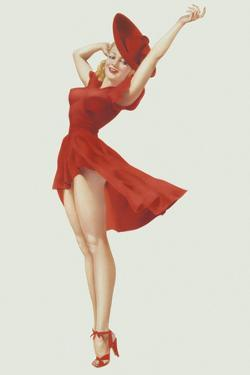 Varga Girl, September 1941 by Alberto Vargas