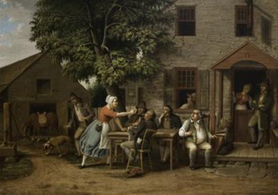 Rip Van Winkle at the Inn, 1879 by Albertus D.O Browere