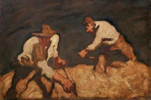 Reapers in a Gathering Storm, 1912 by Albin Egger-lienz