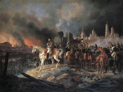 Napoleon Bonaparte in Moscow, 1840