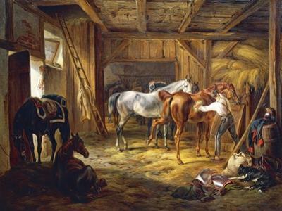 Stud, by Adam Albrecht (1786-1862), Germany, 19th Century