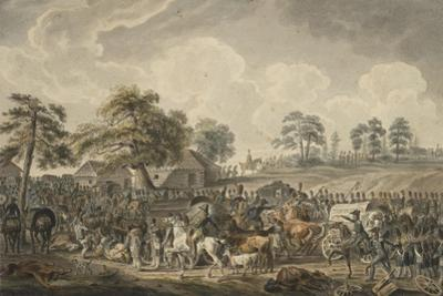 The French Army Crossing the Daugava River on July 24, 1812, Mid 1820S