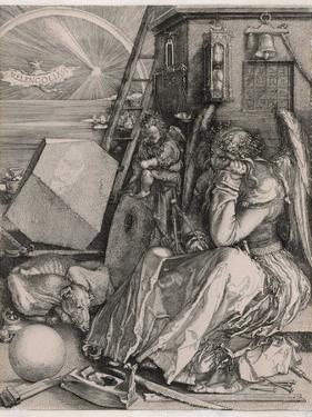 Melancholia by Albrecht Drer