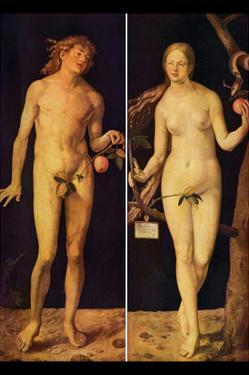 Adam and Eve by Albrecht Dürer