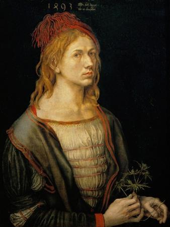 Albrecht Duerer, self-portrait,1493 by Albrecht Dürer