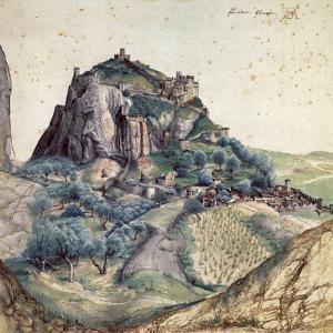 Castle and Town of Arco, 1495 by Albrecht Dürer