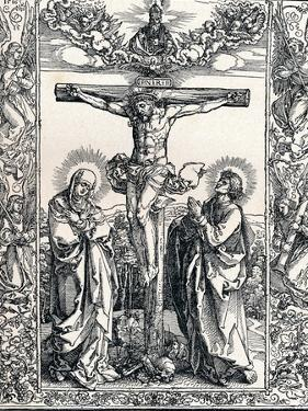 Christ on the Cross, 1516 by Albrecht Dürer