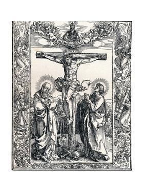 Christ on the Cross, 1516 by Albrecht Dürer