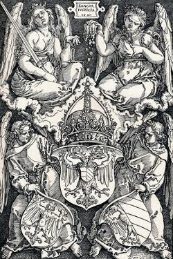 Coat of Arms of the City of Nuremberg, 1521 by Albrecht Dürer