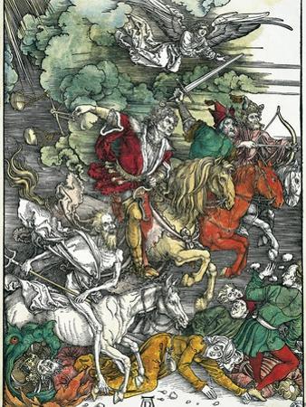 Four Horsemen of the Apocalypse: Pestilence, War, Famine and Death by Albrecht Dürer