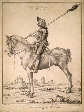 German Cavalryman of the 15th Century, 1785 by Albrecht Dürer