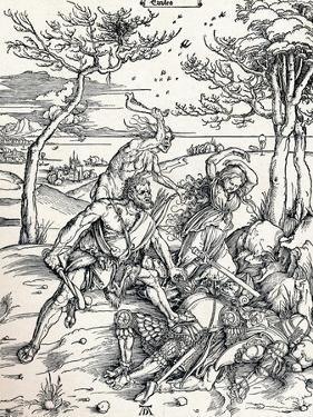 Hercules, 1497 by Albrecht Dürer