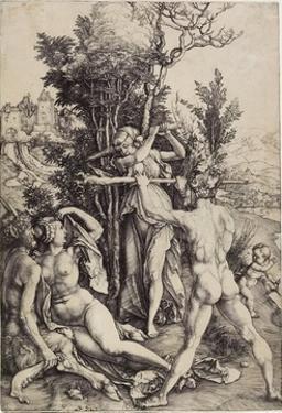 Hercules, C. 1499 by Albrecht Dürer