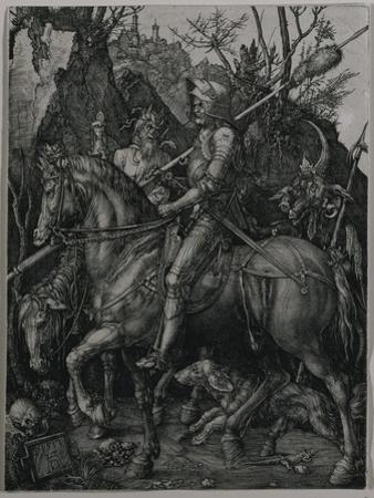 Knight, Death and the Devil, 1513 by Albrecht Dürer