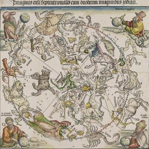 Map of the Northern Sky by Albrecht Dürer