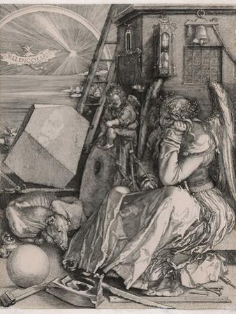 Melancholia by Albrecht Dürer