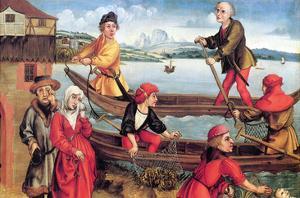 Miraculous Salvation of a Drowned Boy by Albrecht Dürer