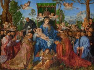 Feast of the Rose Garlands, 1506 by Albrecht Dürer or Duerer