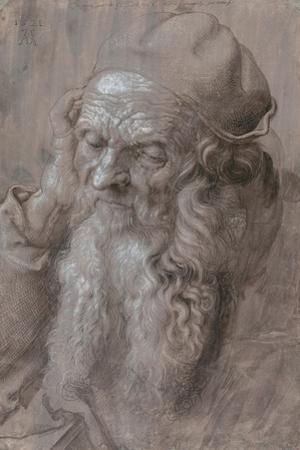 Head of an Old Man, 1521 by Albrecht Dürer or Duerer