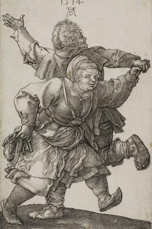 Peasant Couple Dancing, 1514 by Albrecht Dürer