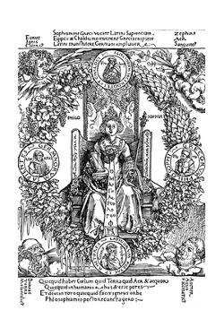 Philosophia, 1502 by Albrecht Dürer