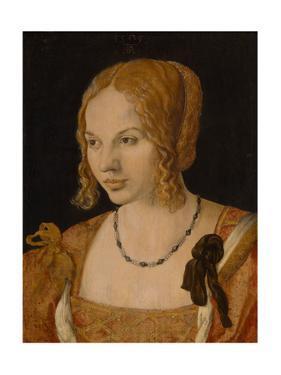 Portrait of a Young Venetian Woman, 1505 by Albrecht Dürer