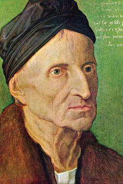 Portrait of Michael Wolgemut by Albrecht Dürer