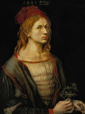Self-Portrait, 1493 by Albrecht Dürer