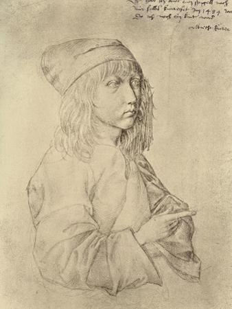 Self Portrait at the Age of Thirteen, 1484 by Albrecht Dürer