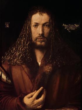 Self Portrait at the Age of Twenty-Eight, 1500 by Albrecht Dürer