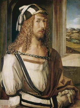 Self-Portrait by Albrecht Dürer