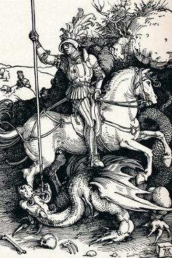 St George and the Dragon, 1505 by Albrecht Dürer