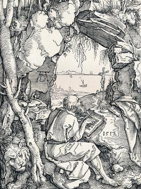 St Jerome in a Cave, 1512 by Albrecht Dürer